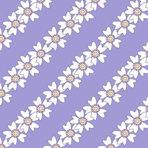 Flower Chains Diagonal - Sunshine Days - © PinkSodaPop 4ComputerHeaven.com