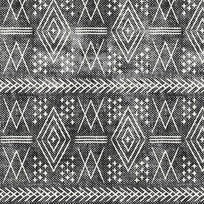 vintage moroccan (small scale) grey