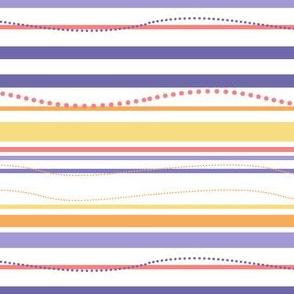 Curvy Dots & Stripes - Sunshine Days - © PinkSodaPop 4ComputerHeaven.com