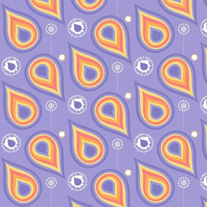 Rainbow Diagonal Drops & Dots! - Sunshine Days - © PinkSodaPop 4ComputerHeaven.com