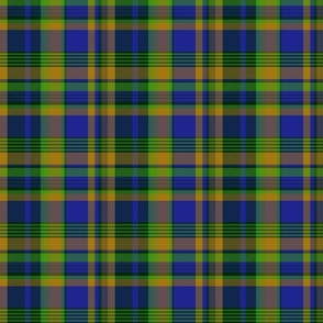 "Nova Scotia tartan (Pik Mills, 6"" x 4-3/4"")"