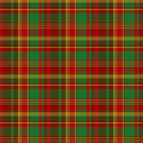 "Newfoundland tartan (Pik Mills, 6"" x 4-3/4"""