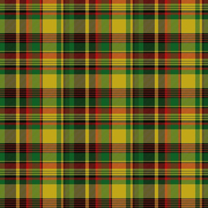 New Brunswick tartan, yellow (Pik Mills)