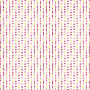 Bead Curtain - Pink