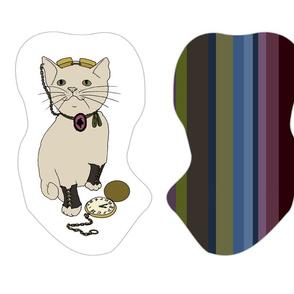Cut and Sew - Steampunk Kitties