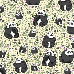 Pandas on Yellow