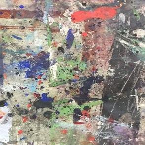 #4 Abstract Paint Graffiti Grunge