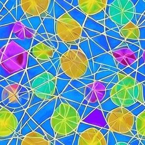 Tribal Hand Drawin Pattern Fabric