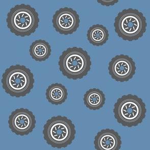 Bouncing Tires