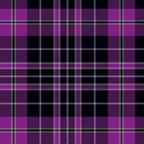 "Priest/Clergy tartan, 6"" purple"