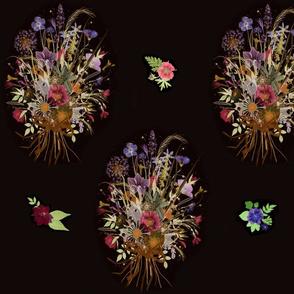 Dark Floral Bouquet