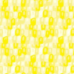 17-12W Lemon Yellow Pastel Lights Abstract watercolor || dots spots modern sun summer_ Miss Chiff Designs