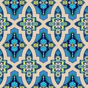 Marrakesh Tile Floral  // Geometric  // Kilim Tiles
