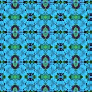 Fantasy Floral-blue