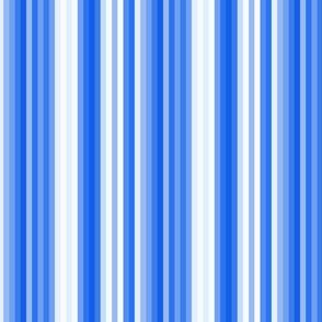 17-12P Nautical Blue Indigo Bike Stripe|| pinstripe royal sky summer  _ Miss Chiff Designs