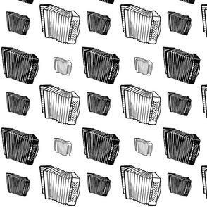 accordion monochrome 2