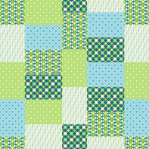 Green Glass Quilt