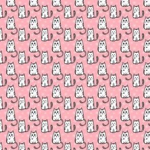 Retro Kitty - pink
