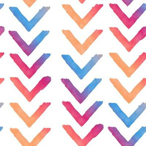 Large Chevrons: 'Summer Party'