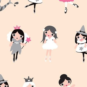 Little girls fashion dress up party XL