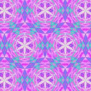 Flower of Life  Sacred Geometry Pattern