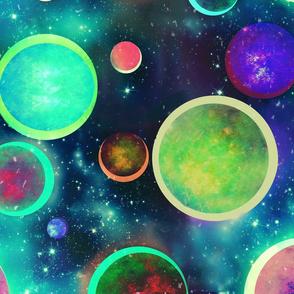 Festive Planets