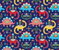 Folk Art Dinosaurs