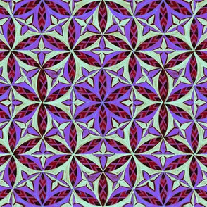 Flower of Life Hand Drawing Pattern