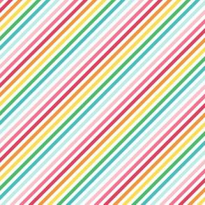 stripes diagonal :: colorful christmas