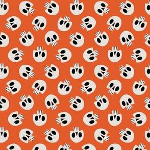 Skull Pattern (Orange)