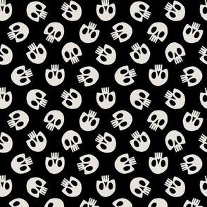 Skull Pattern (Black)