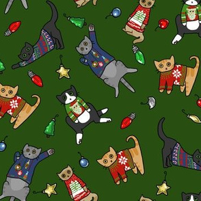 Ugly Sweater Cats