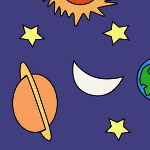 Solar System Teacher Dress