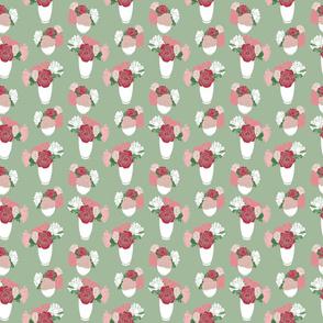 bedford rosey vases