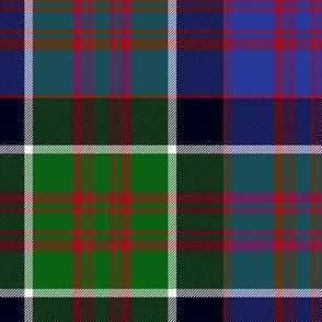 "MacDonald of Clan Ranald tartan, 10"" modern"