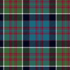 "MacDonald of Clan Ranald tartan, 6"" muted"