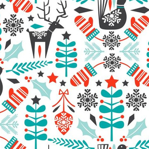Hygge Holiday - Swedish Folk Art Christmas