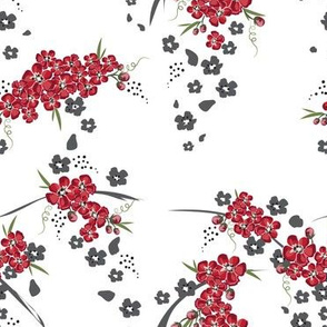 Cherry Blossom, Cherry Blossom fabric yard, Cherry Blossom Flower, Cherry Blossom fabric
