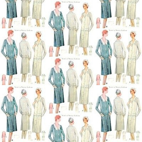 Vintage Nurse/Service Worker Pattern