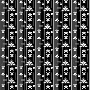 Bohemian Rug in Black