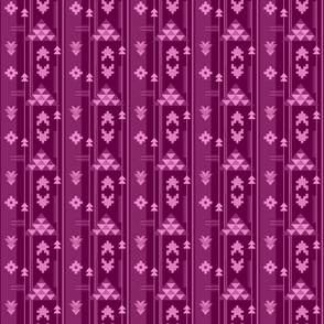 Bohemian Rug in Purple