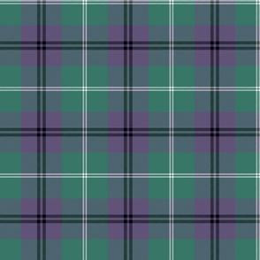 "Oliphant tartan, 6"" grey-violet variant"