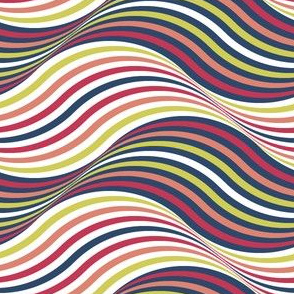 06686496 : billowing paint streak ribbons