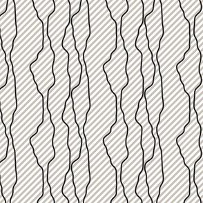 Black fine diagonal rough line pattern