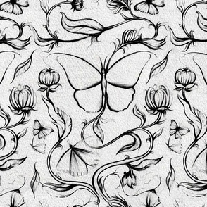 Continuous Butterfly Vine