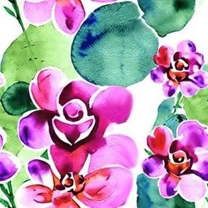 Hexagon Mandala Pattern Purple
