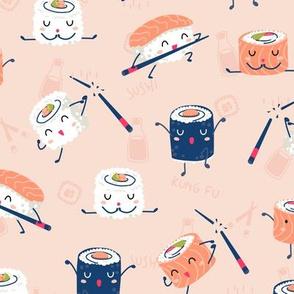 Sushi Kung Fu