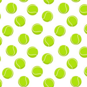 (small scale) tennis balls