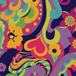 70s Psychedelic Groove JUMBO