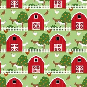 My friend's farm -Barns